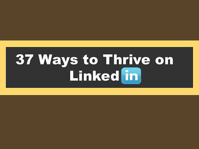 LinkedIn, tips, infographic,