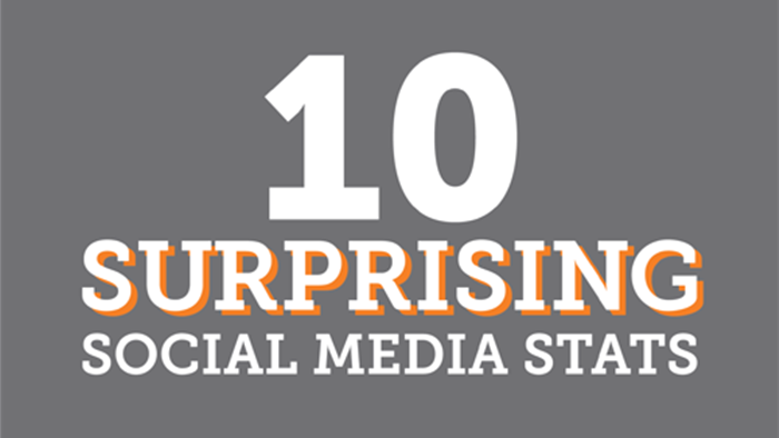 10 Surprising Social Media Stats - Featured