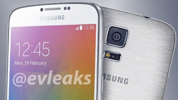 Samsung Galaxy Alpha render
