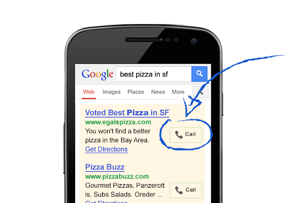 Google AdWords Express App iOS Android Platform