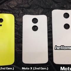 Motorola's Upcoming Phablet, Moto S Leaked Images