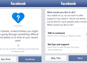 Facebook Adds More Suicide Prevention Tools