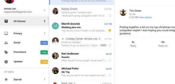 Google Updates Gmail For Android With A Slew Of New Features