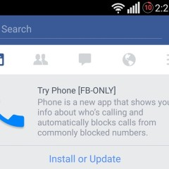 Facebook Appears To Be Experimenting A Dialer And Caller ID App For Android