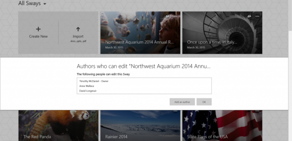 Microsoft Adds More Features To Sway As Multiple People Can Now Simultaneously Edit Document