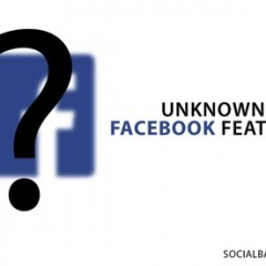 Facebook unknown features