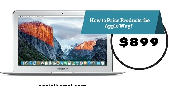 How to Price Products the Apple Way?