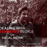 Dealing with hot tempered people on social media