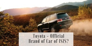 Is Toyota the Official Brand of Car of ISIS?