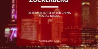 Zuckerberg very determined to get china social media
