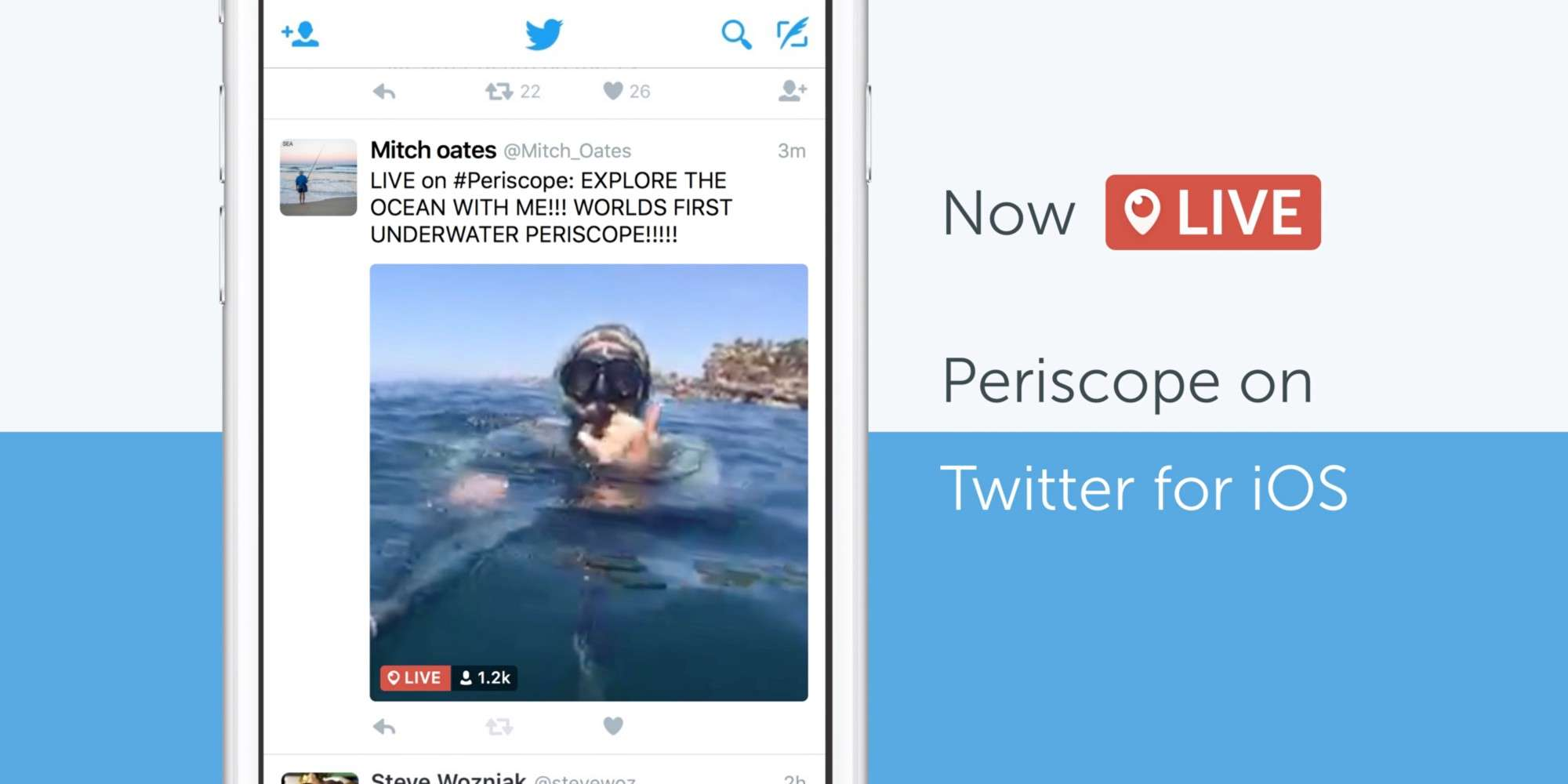 Periscope Live-Stream Content on Twitter Feed