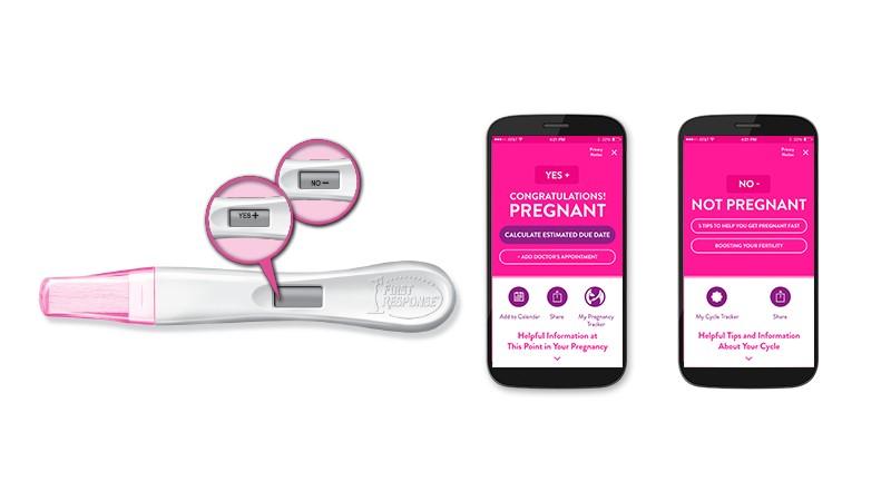 First Response Introduces The First Pregnancy Test With Bluetooth