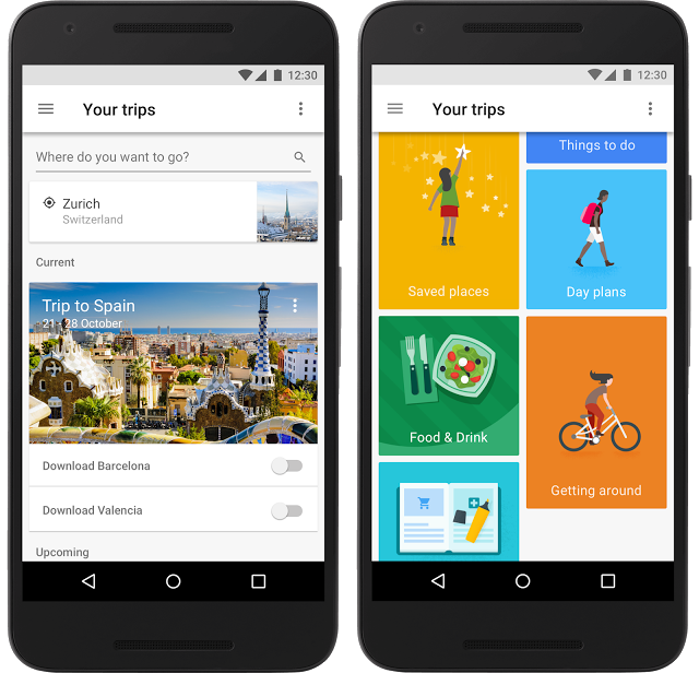 Google Launches Trips to Organise Your Travel