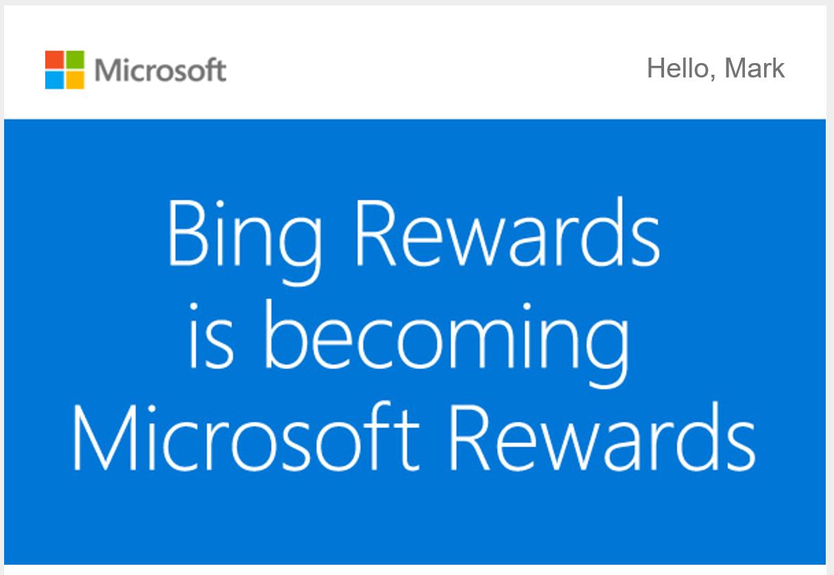 Microsoft Bing Rewards Program Is Now In UK