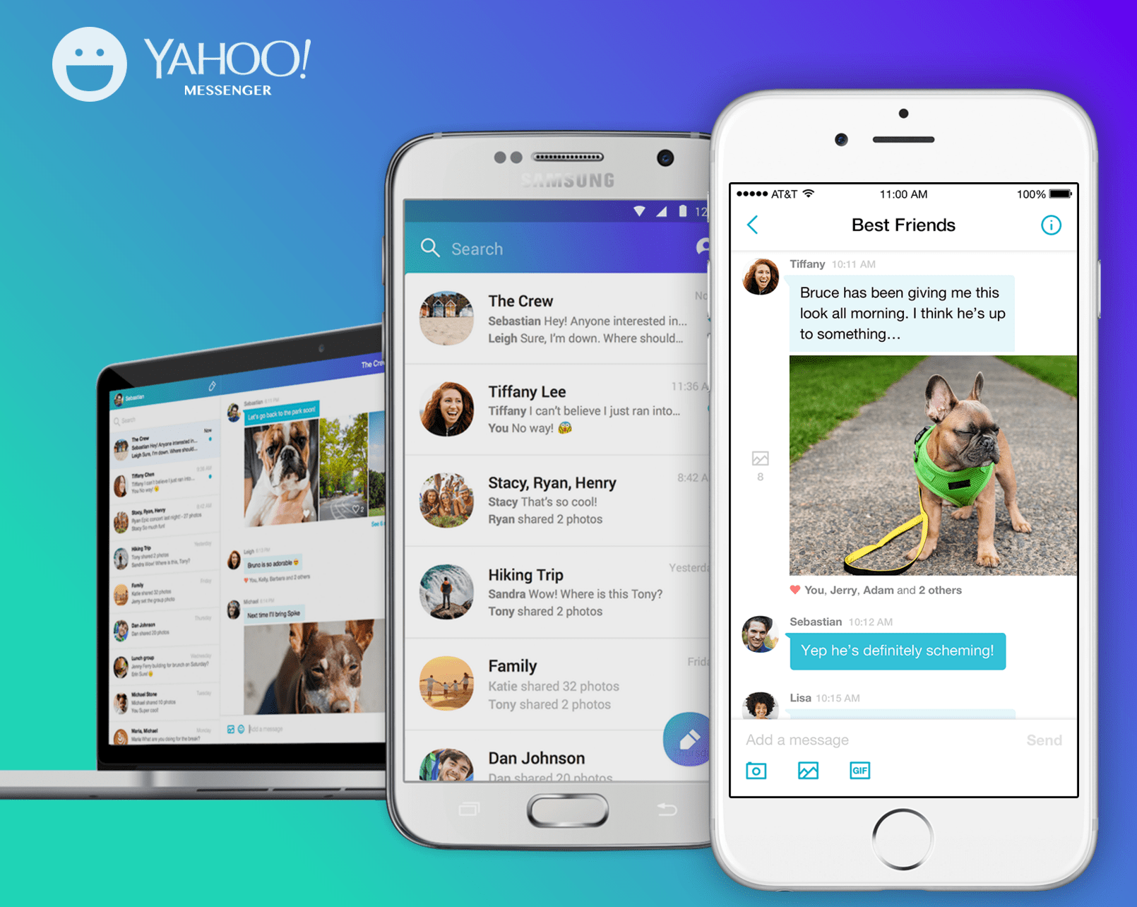 Yahoo! Messenger for android download.