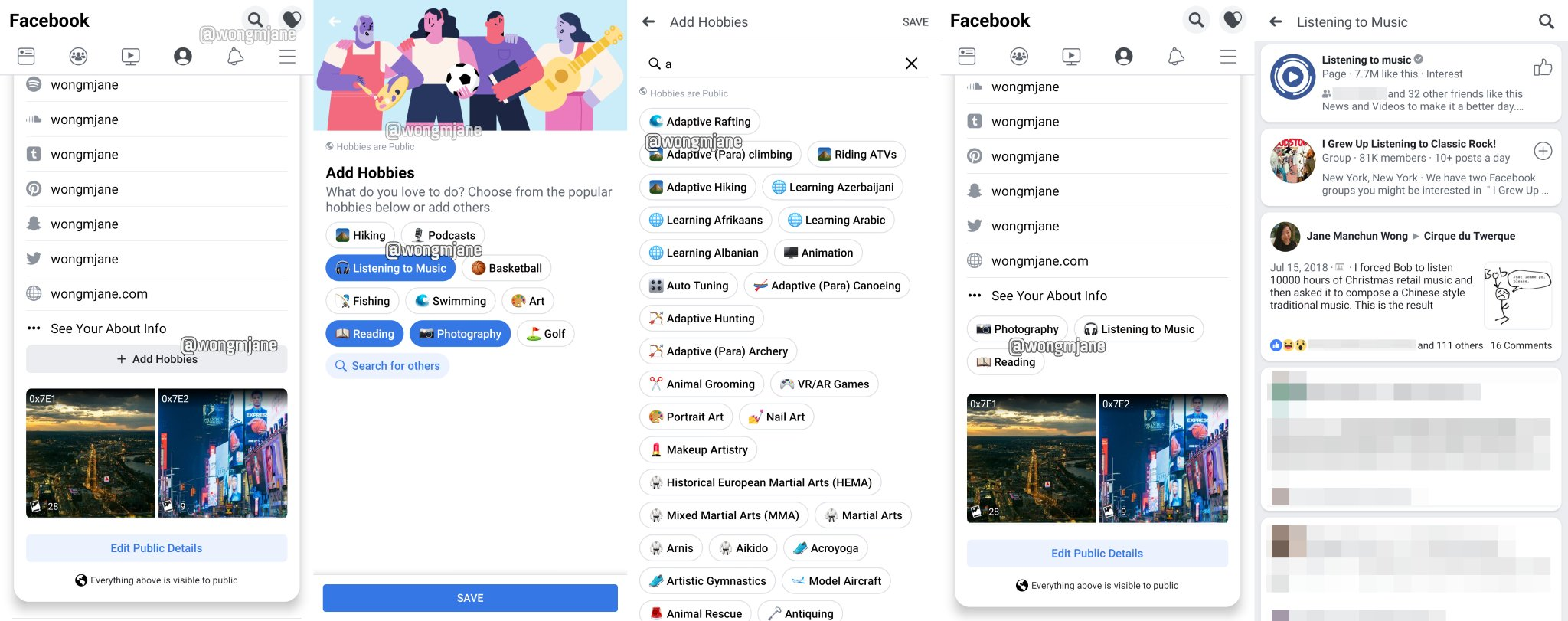 How to add new profile picture on facebook