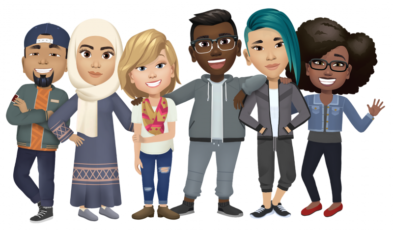 facebook avatars diversity