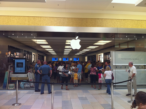5 New Apple Stores To Open This Weekend