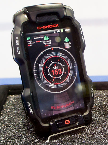Casio and Its G-Shock Smartphone, the Android More Resistant