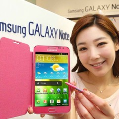 Pink Samsung Galaxy Note Officially Released