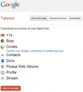 google-takeout