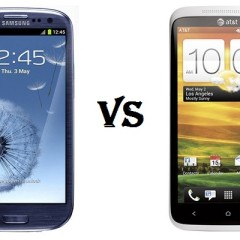 Battle of the Titans: Samsung Galaxy S3 vs HTC One X