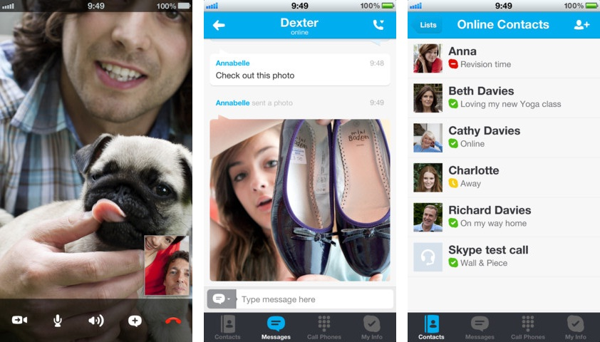 Skype for iOS 4.1.2 Adds Support for iPhone 5 Screen