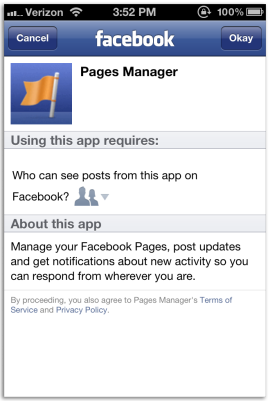 Facebook Pages Manager App is now available for Android. (Image: via howto.cnet.com)