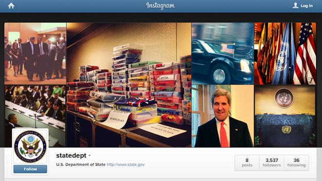 US State Department, Instagram