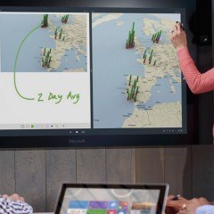 "Microsoft Will Sell 84"" and 55"" Surface Hub This Year"