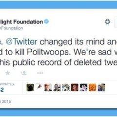 Twitter Slams Politwoops