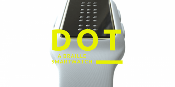 Dot Smartwatch – Braille-Capable Watch