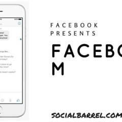 Facebook M – Latest Digital Personal Assistant