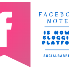 Facebook's Notes Has Been Revamped Giving Users a Blogging-Like Platform