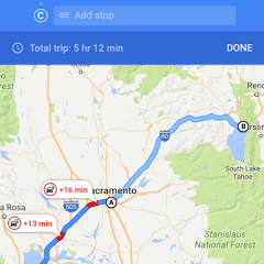 Google Maps for iOS Adds Multi-Stop Feature