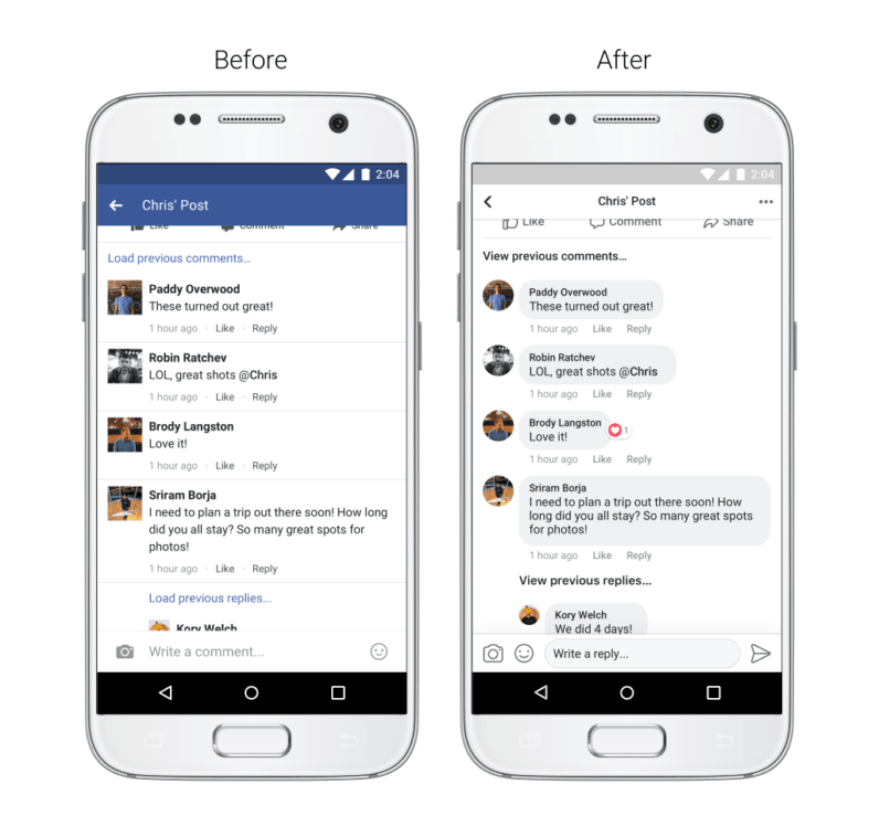 Facebook apps get new design; comments now look more like ... on New Get Design  id=81295