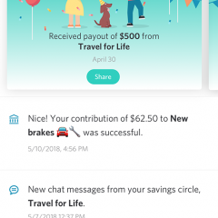 "Yahoo rolls out ""Tanda;"" a mobile only peer-powered savings app"