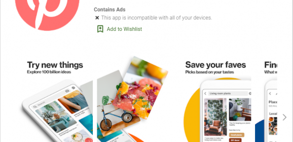 """Pinterest's new """"Lite"""" app is for emerging markets—consumes less space"""