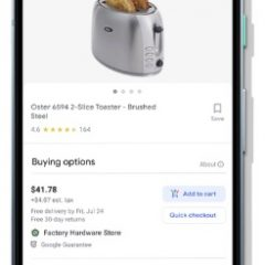 Buy on Google listings now with zero commission rates