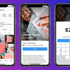 Instagram has launched a new tool for personal fundraising