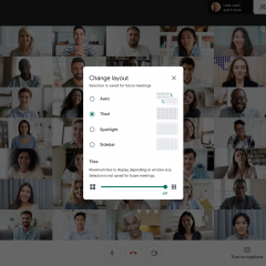 Google Meet users can now see up to 49 people simultaneously