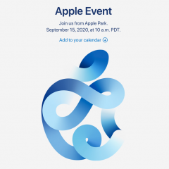 "Announcing Apple's ""Time Flies"" Event on September 15"