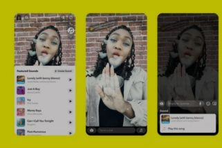 Snapchat users on iOS can now add sounds to Snaps