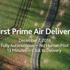 Amazon Will Lay Off Staff Working on the Prime Air Drone Project