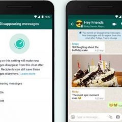 WhatsApp is set to launch its disappearing message option this month