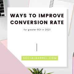 6 Ways to Improve Conversion Rate for Your eCommerce Site in 2021