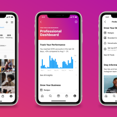 Instagram rolls out professional dashboard for creators