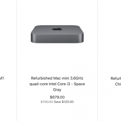 Apple Starts Selling Refurbished M1 Mac Mini Models