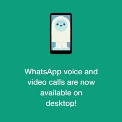 WhatsApp rolls out voice and video calls on desktop