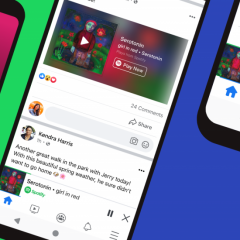 Facebook partners Spotify to allow users stream music within the Facebook app